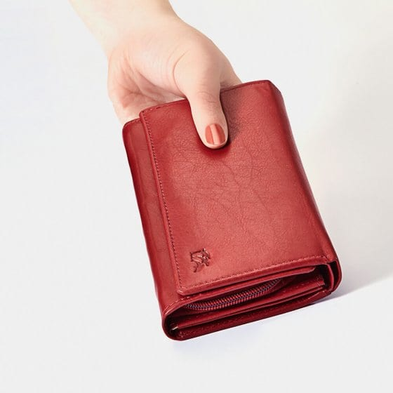 Porte-monnaie en cuir pour femmes