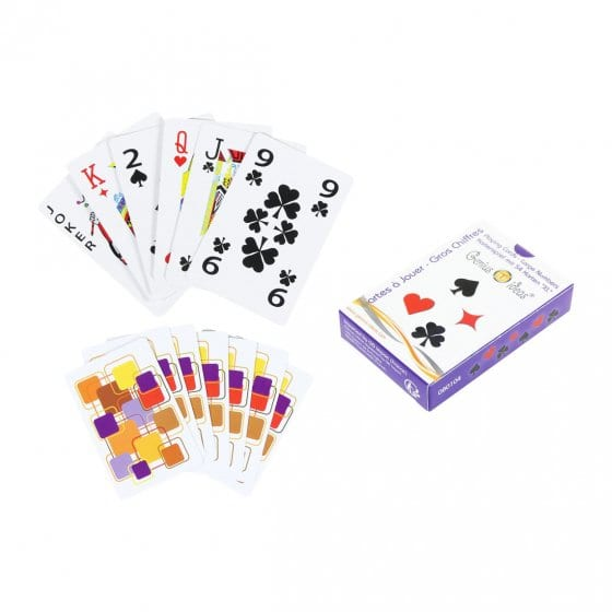 Kaartspel XL 2 stuks