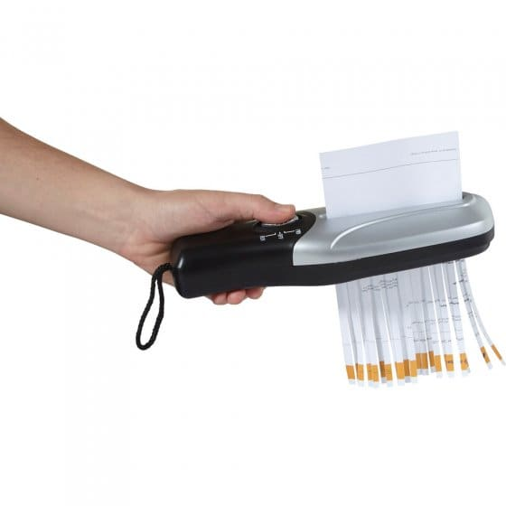 Destructeur de documents pratique