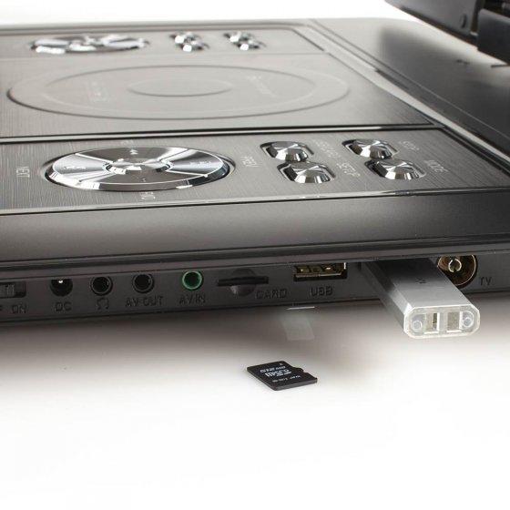 Lecteur DVD extra large avec DVB-T2