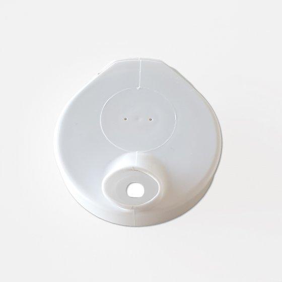 Gobelet rainuré avec 2 couvercles
