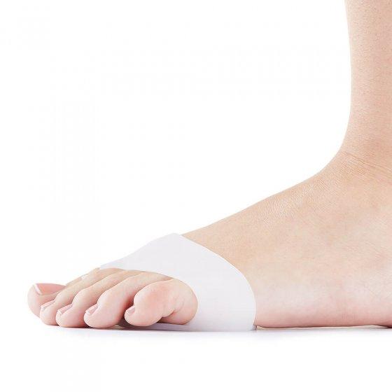Le protecteur gel 2-in-1 pour orteils et avant-pied