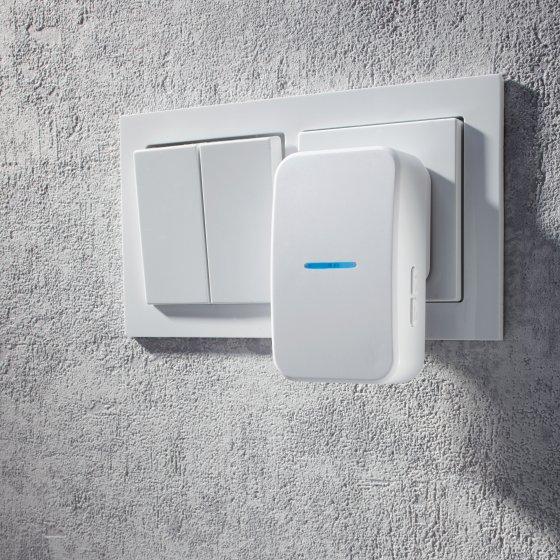 Batterijloze draadloze deurbel