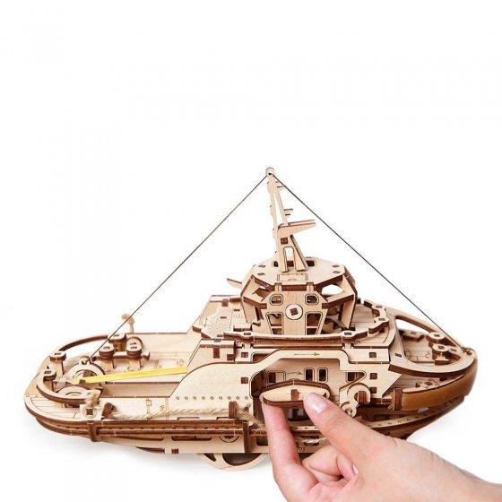 Houten model sleepschip