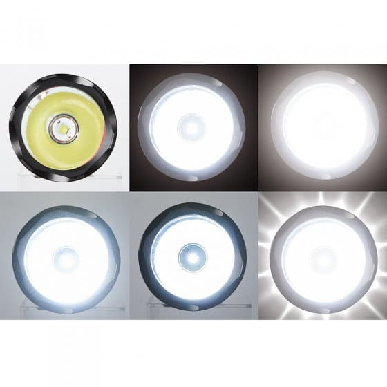 Oplaadbare multifunctionele powerlamp