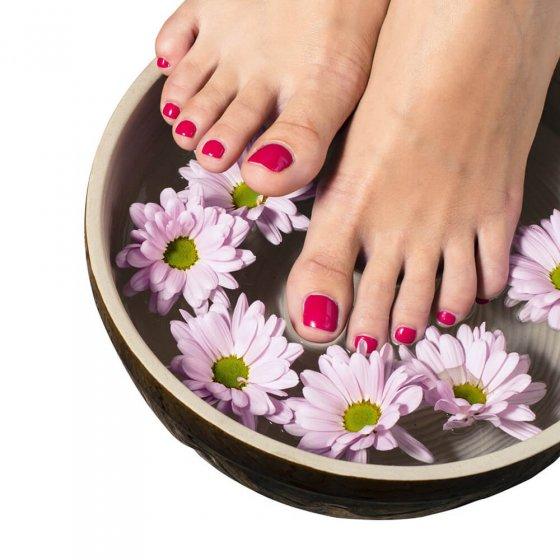 Tapis de massage des zones réflexes des pieds