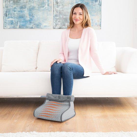 Chauffe-pieds massant