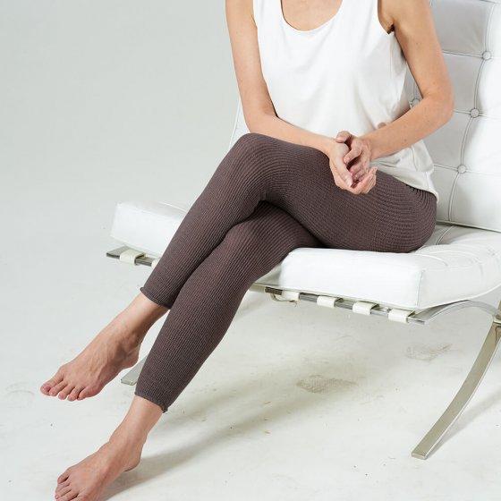 Legging chaud confortable, noir