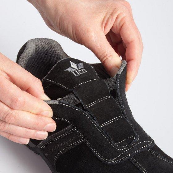Chaussures en cuir de style sportif
