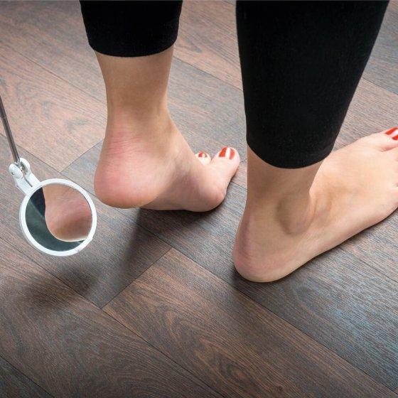 Miroir télescopique pour auto-diagnose
